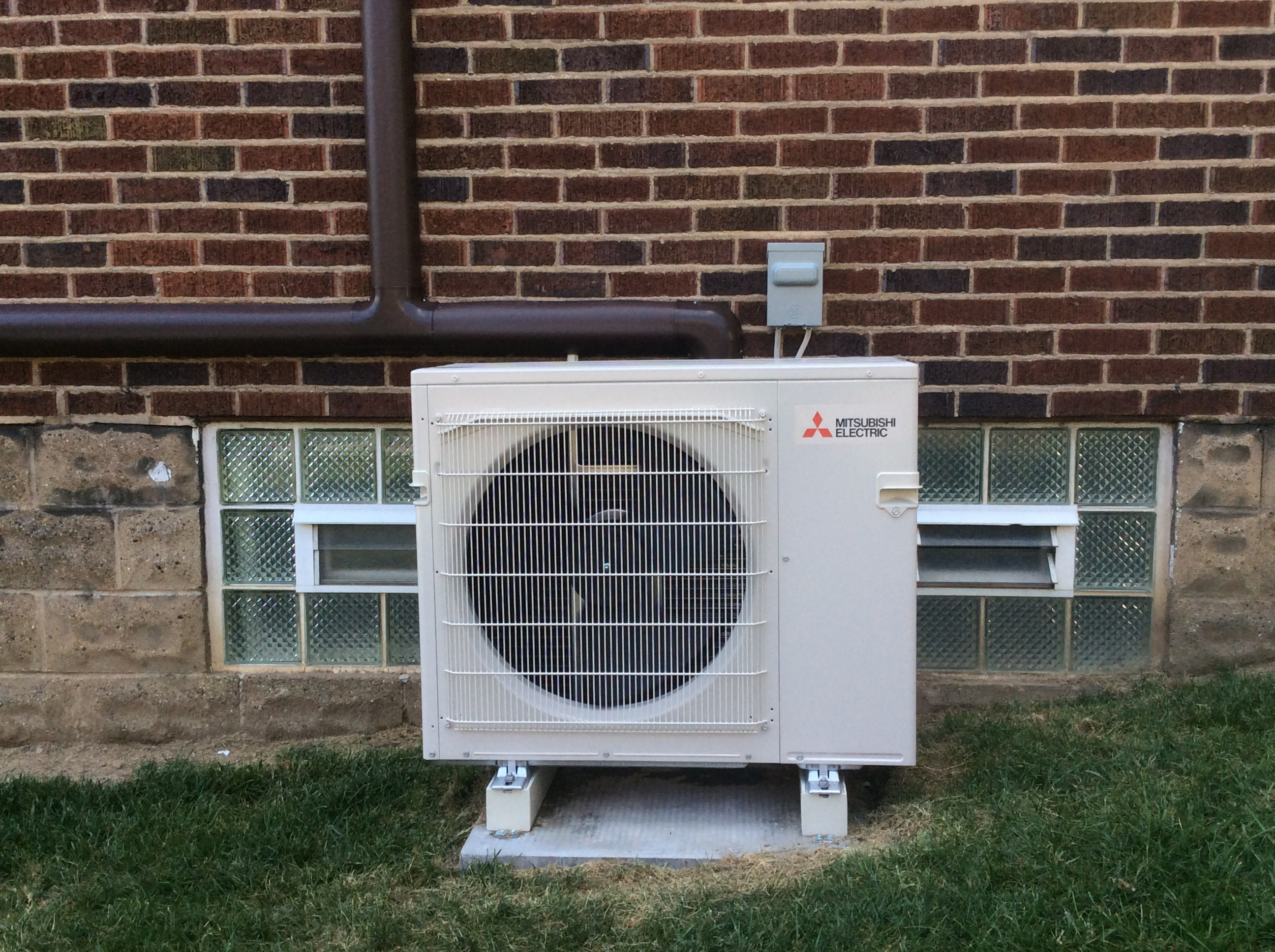 Mitsubishi Electric Air Conditioning system installed by Phillips Heating & Air Conditioning of Pittsburgh, PA.