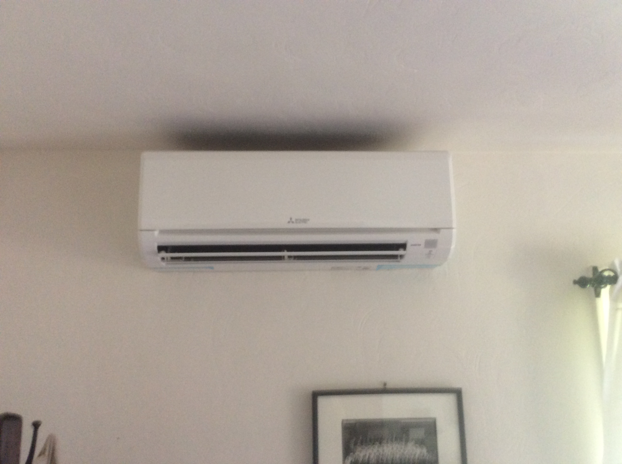 Ductless air conditioning installed by Phillips Heating & Air Conditioning in Pittsburgh, PA.